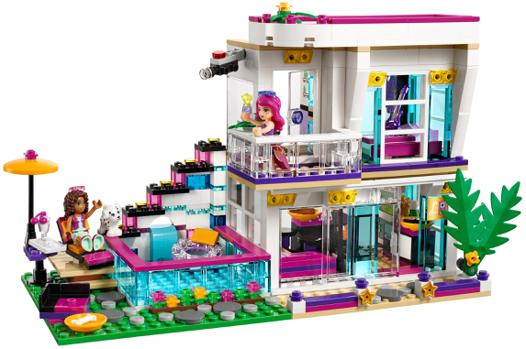 maison lego friends