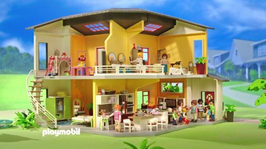 maison moderne playmobil 9266