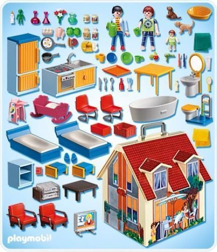 maison playmobil 5167