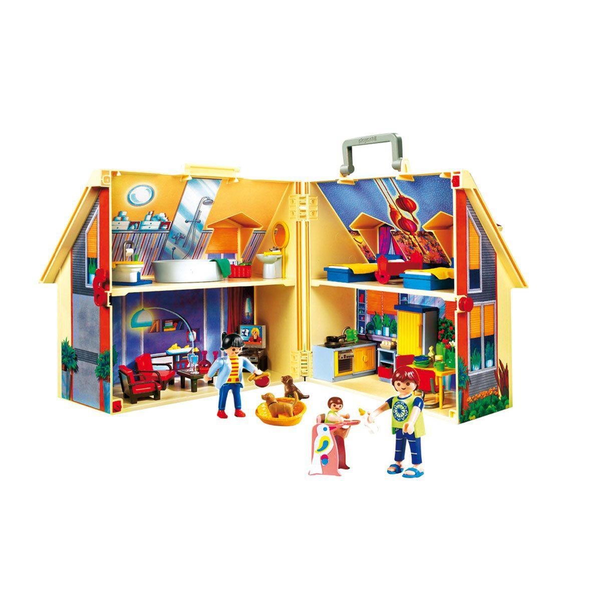 maison playmobil transportable 5167