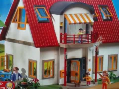 maison playmobil villa moderne