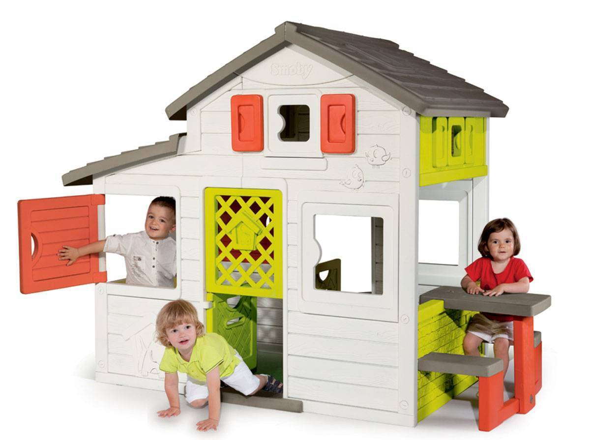 maison smoby friends house soldes
