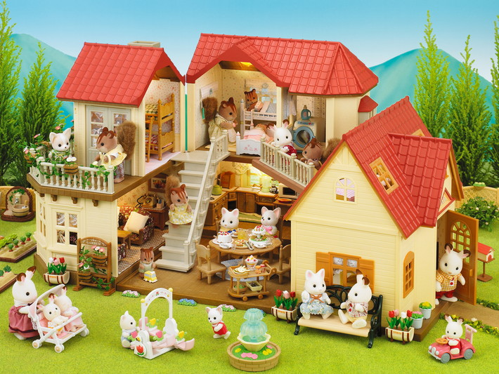 maison sylvanian family