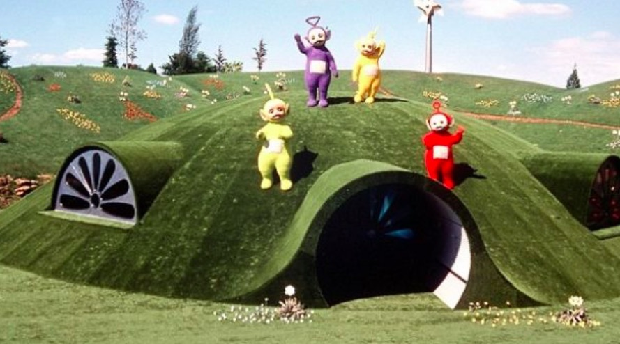 maison teletubbies