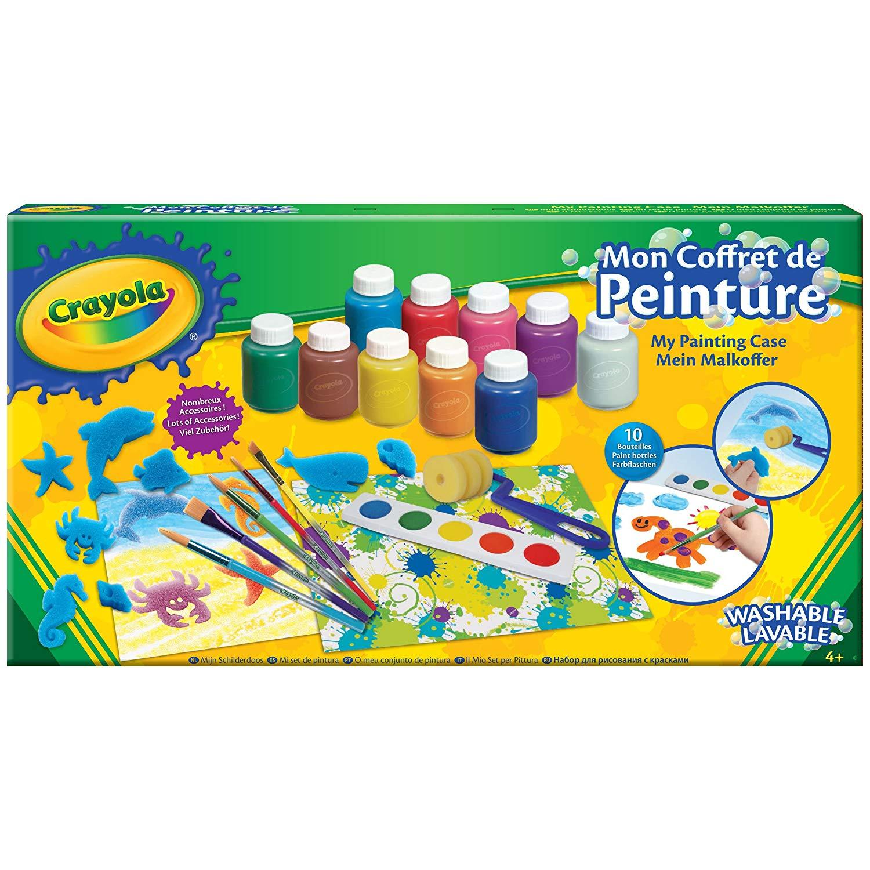 mallette de peinture crayola