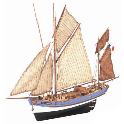maquette bois bateau