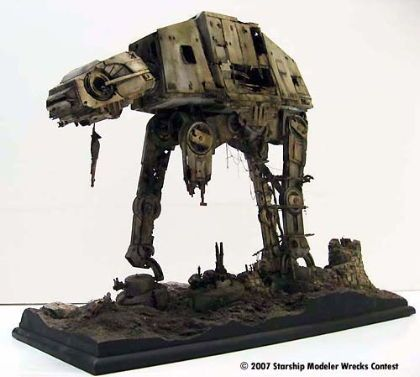 maquette de star wars