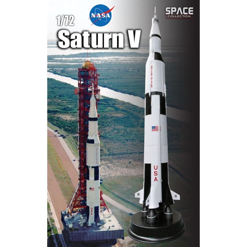 maquette fusée saturne 5