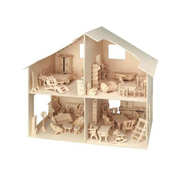 maquette maison bois