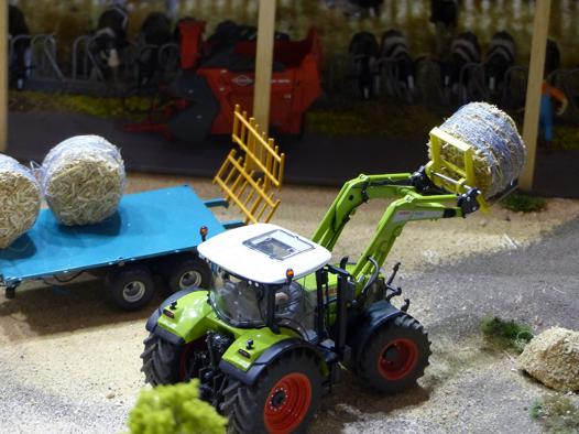 maquette miniature agricole