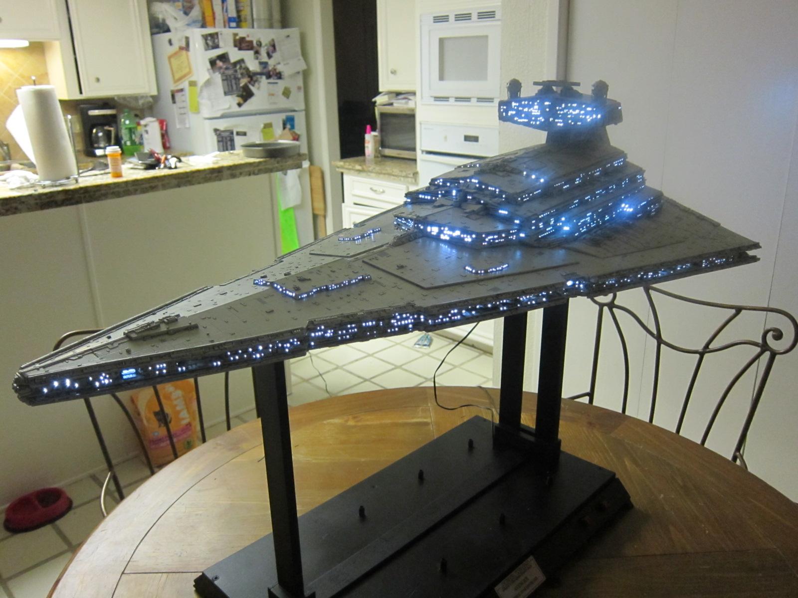 maquette star wars destroyer