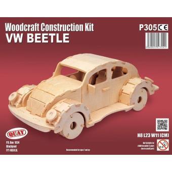 maquette voiture en bois