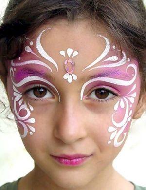 maquillage carnaval princesse