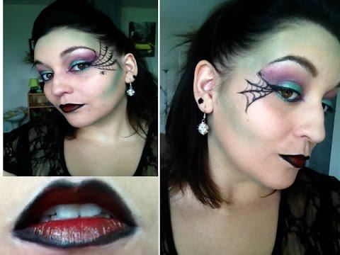 maquillage chic halloween