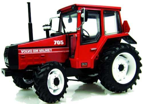 marque tracteur rouge