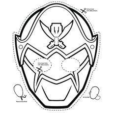 masque de power rangers samurai