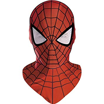 masque spiderman adulte