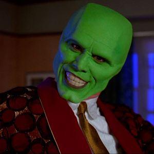 masque vert film