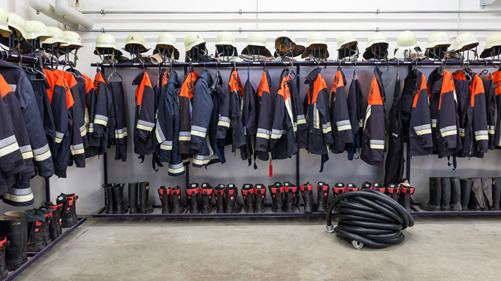matériel incendie pompier