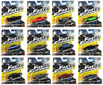 mattel fast and furious