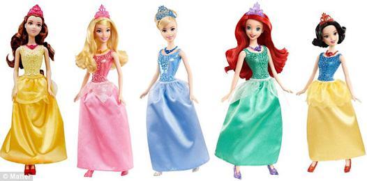 mattel princesse disney