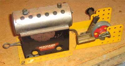 meccano machine a vapeur