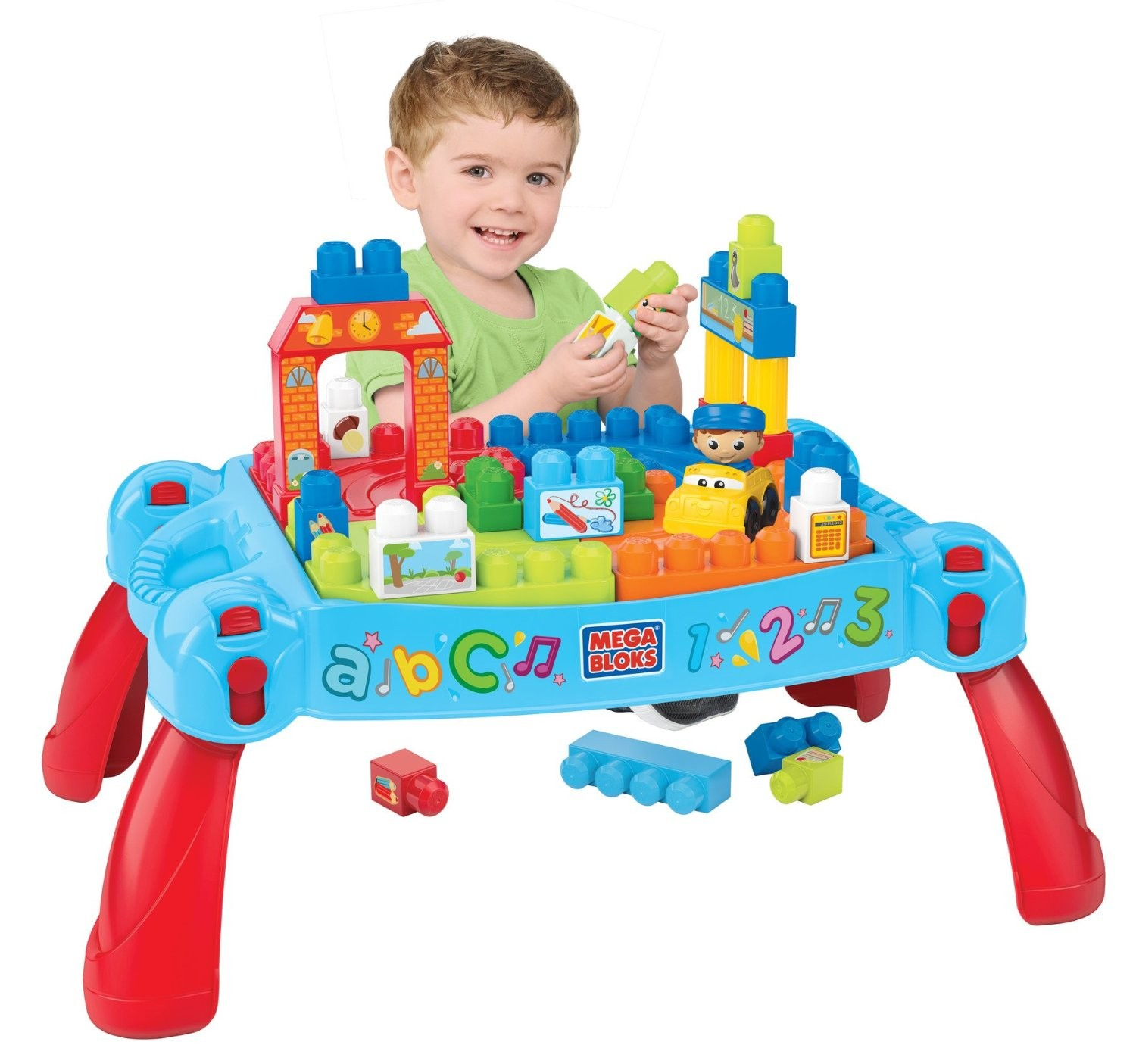 mega bloks first builders maxi table 3 en 1
