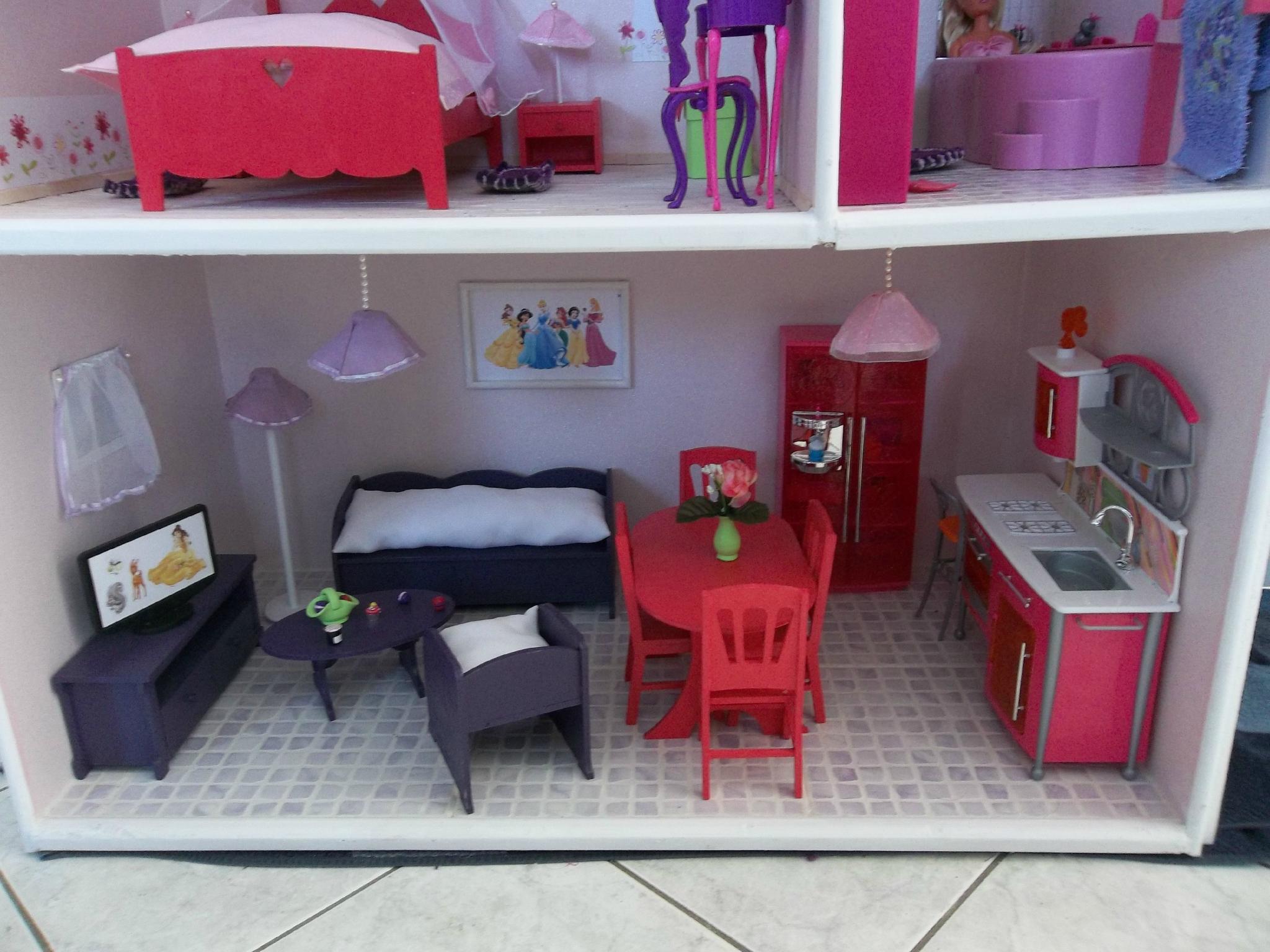 meuble pour maison de barbie