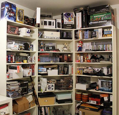 meuble rangement jeux video