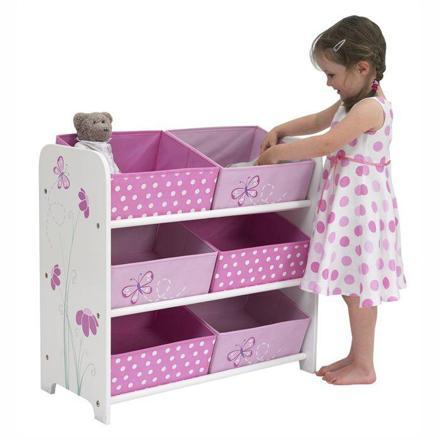 meuble rangement jouet fille