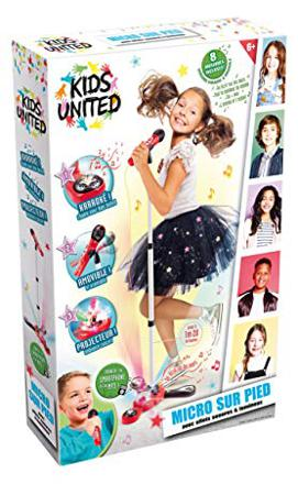 micro sur pied kids united