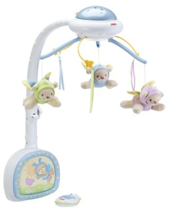 mobile musical fisher price doux reves papillons
