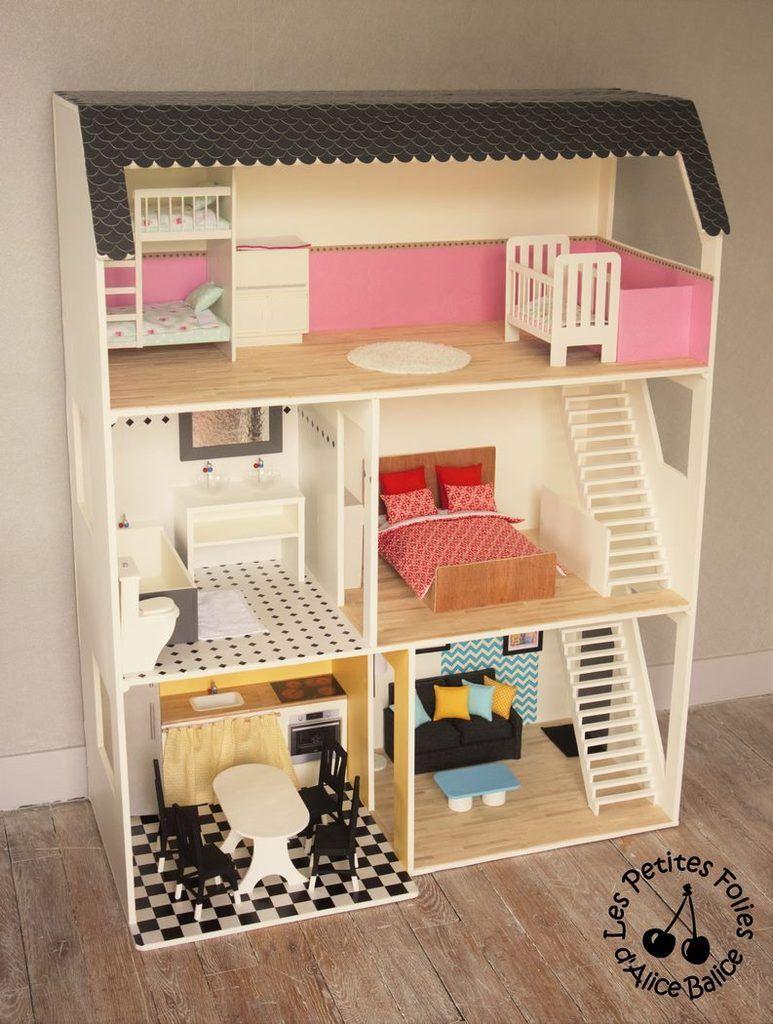 mobilier maison de barbie