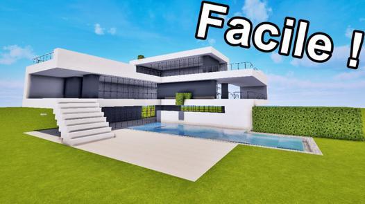 modele maison minecraft