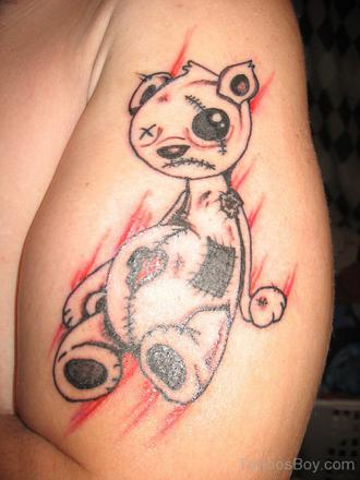 modele tatouage nounours