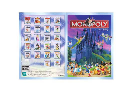 monopoly disney regle