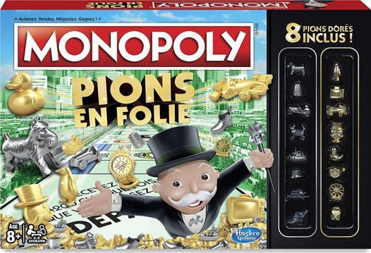 monopoly pion en folie