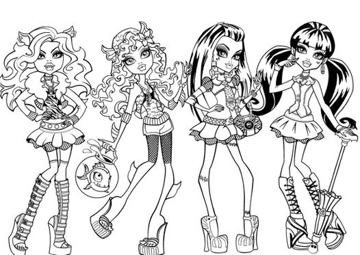 monster high page
