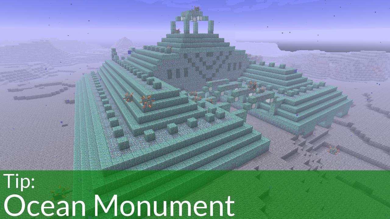 monument minecraft