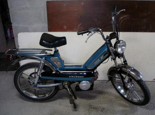 moto a pedale