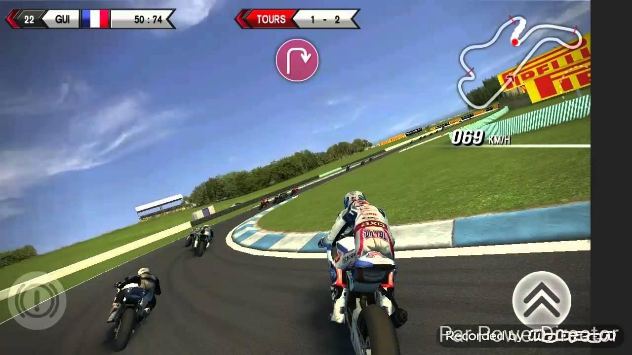 moto course jeux