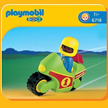 moto playmobil 123