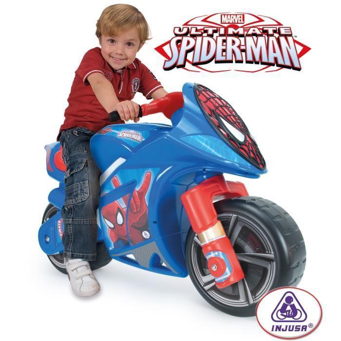 moto spiderman jouet