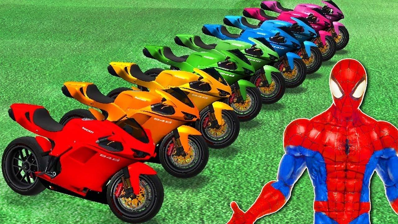 moto spiderman youtube