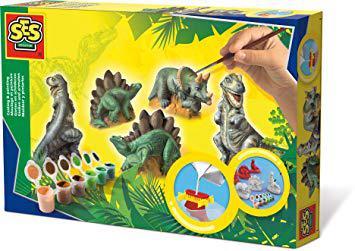 moulage dinosaure platre