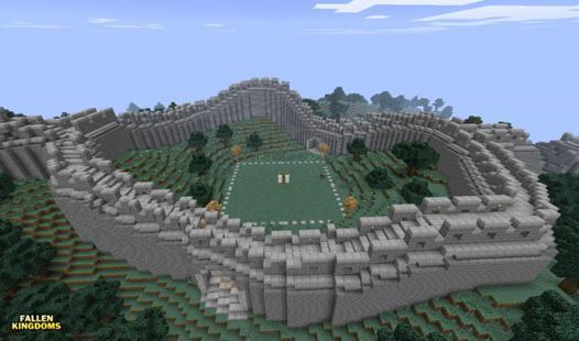 muraille de chine minecraft