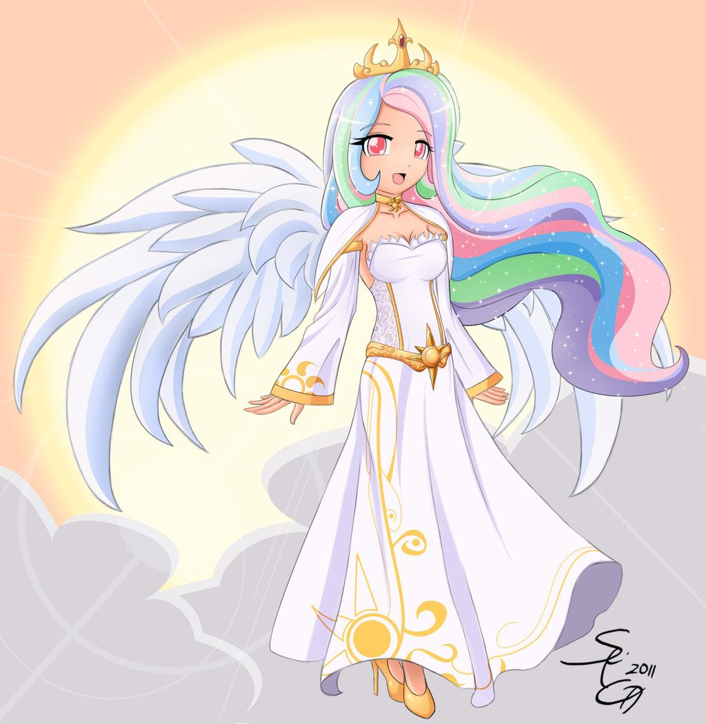 my little pony celestia human