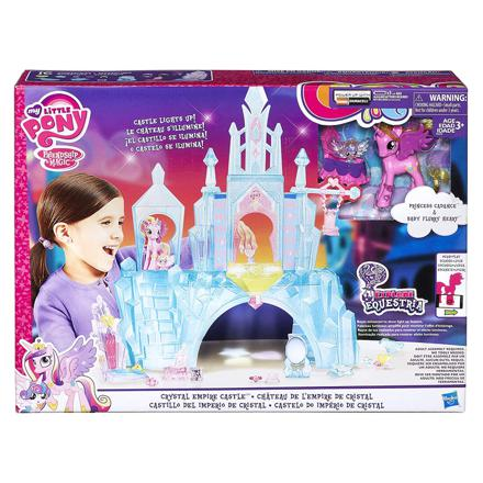 my little pony château empire de crystal