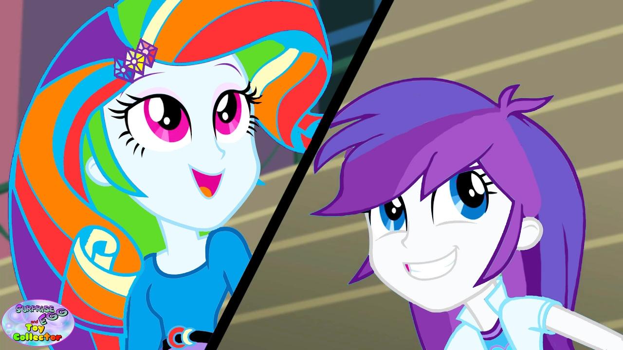 my little pony rarity rainbow dash