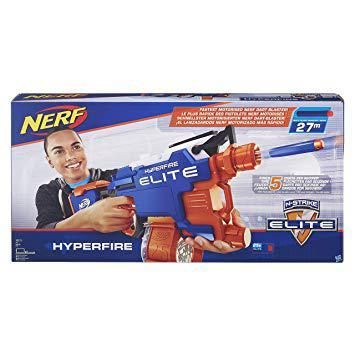 nerf b5573eu40 elite hyperfire jeux de tir